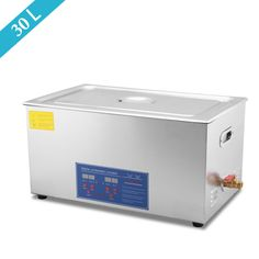 30L Liter 600W Stainless Steel Industry Heated Ultrasonic Cleaner #shoes, #jewelry, #women, #men, #hats, #watches, #belts