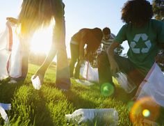 Activities to help your environment on Earth Day, or any other day!