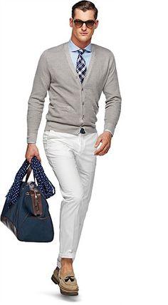 Linen Silk Blend Cardigan