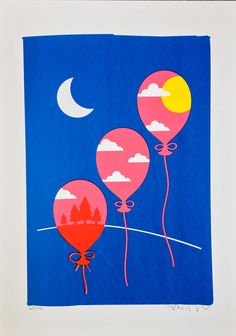 'The Sky Was Pink (Day & Night)' - Anthony Peters