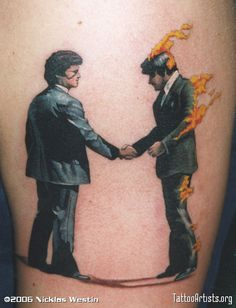 Pink Floyd Tattoos | Wish you were here - Tattoo Artists.org