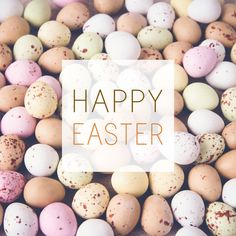 We'd like to wish everyone a Happy Easter!