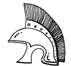 "Roman helmet   -  ""Discovery education's clipart"""