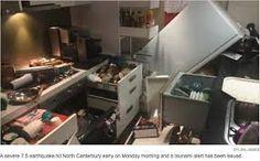 Image result for kaikoura earthquake new zealand 2016 Earthquake Damage, Earthquake And Tsunami, Live In The Now, New Zealand, November, Image, November Born