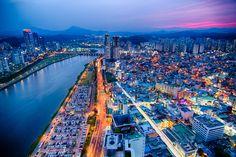 Ulsan Sunset by Jason Teale on 500px