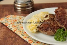 Chef Carla Serrano: Hambúrguer - sem glúten e sem lactose