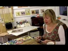 Watch Sam using her ink washes, rubbing off and special snow techniques to create a possible Christmas card for 2009. Find out more at http://www.samtoft.co.uk