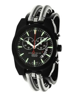 Android Men's Hydraumatic Black Cuff Watch - Not related to Google's mobile OS