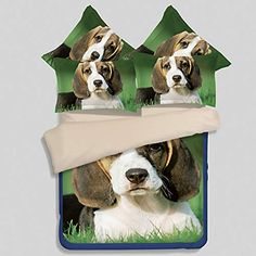 f5db49380a LETFF Bedding Set Duvet Cover Home Textiles 10 Kinds of Puppy Patterns