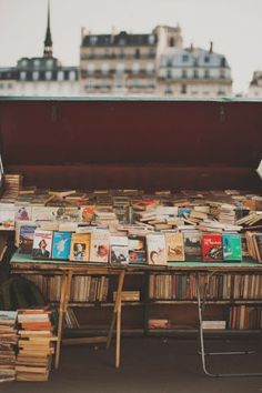 Books by the Seine River