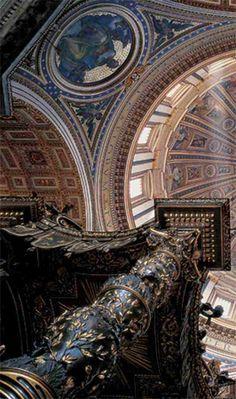 Italy Tour: Basilica di San Pietro, Roma