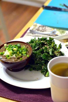 Vanishing Veggie: Arbonne Detox Day 15, Cauliflower Black Bean Soup