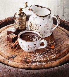 """Un chocolat maison ... ça donne envie de """"respirer"""" quelques minutes !"""
