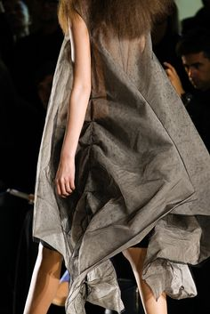 Rick Owens Spring 2015 Ready-to-Wear - Details - Gallery - Look 1 - Style.com