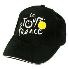 Women's Cycling Caps - Le Tour de France  Official Tour de France Cap  Adjustable size  Color  Black * Continue to the product at the image link.