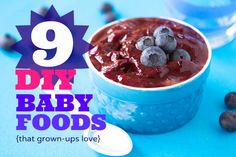 DIY Baby Food - some of these seem really good!