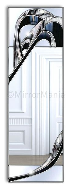 Empress Original Handcrafted Coloured Glass Artistic Wall Mirror - Special Offers