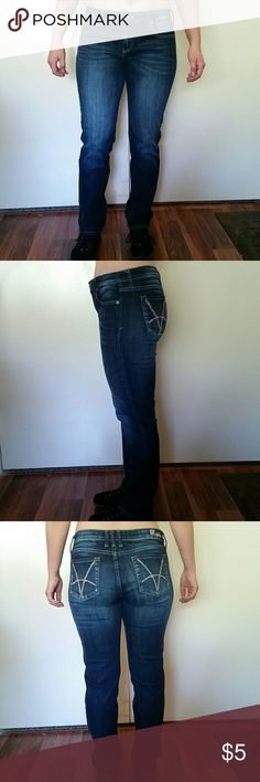 Kut brand Jeans with ornament Regular cut jeans. Very good overall condition. Kut Jeans Boyfriend