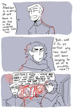 it felt wrong to do a comic today that wasnt about my favorite ship happy star wars day everyone