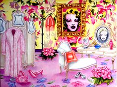 K. Madison Moore artista-Espiritu de Marilyn