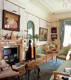 Morning Room in Clarence House