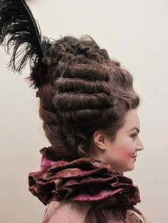 1830s Hairstyles | Photos Of Work From Period Hair Courses 1830\'s ...