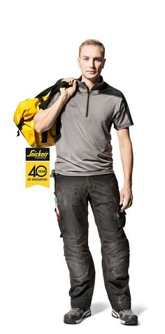 Snickers' AVS Polo features the Active Vaporize System to keep you cool and dry