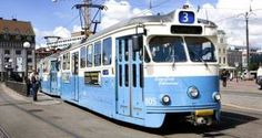 """Göteborg, en stad som har och är i mitt hjärta. En stad som är vacker på alla möjliga sätt, detta vackra """"tåg"""" var och är enormt vacker och bekväm."""