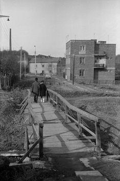 Most na Czechówce, Lublin 1972 r. Fot. Stanisław Lipski.