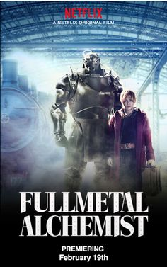 First Poster for Netflix's 'Fullmetal Alchemist' Film