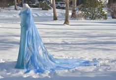 Inspiration for the next cosplay. Elsa from Frozen.