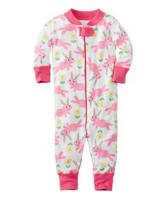 Look what I found on #zulily! Bunnies Organic Playsuit - Infant & Toddler #zulilyfinds