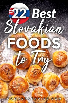 Slovakian Food - 22 Traditional Dishes You Simply Must Try - Nomad Paradise Slovak Recipes, Czech Recipes, Ethnic Recipes, Slovakian Food, Food Picks, Exotic Food, Afternoon Snacks, International Recipes, Foodie Travel