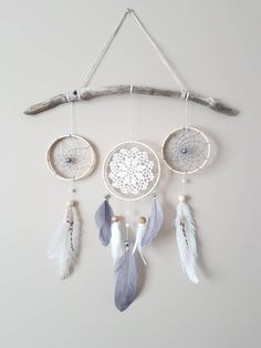 Excited to share the latest addition to my #etsy shop: Feather Dream Catcher Wall Hanging-Grey White Dream Catcher-Gray Nursery Decor-Baby Room Wall Decor-Gender Neutral Nursery Decor-Boho Decor #bedroom #babyshower #homedecor #dreamcatcher #wallhanging #driftwood #bohonursery http://etsy.me/2tqJ2mu