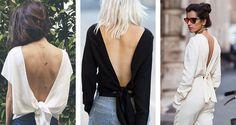 Como usar decote nas costas | Danielle Noce