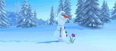 Disney Frozen Olaf #DisneyFrozen this is me every time I see the first crocus blooms in the early spring