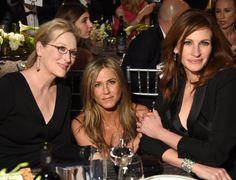 Pin for Later: Was wird da getuschelt, Jennifer, Meryl und Julia?!