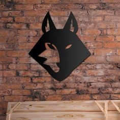 Deccort | Wolf Metal Tablo Wolf, Batman, Superhero, Metal, Poster, Fictional Characters, Art, Craft Art, Wolves