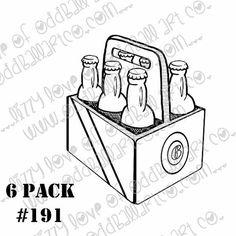 Digi Stamp Instant Download Oddball Stamps by OddballArtCo on Etsy