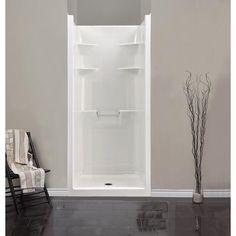 shower stalls one piece | ... - Melrose 3 Acrylic 1-piece Shower Stall - MEL3 - Home Depot Canada