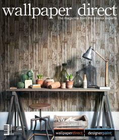 Wallpaperdirect Magazine Autumn issue Digital Magazine, Modern Colors, Designer Wallpaper, Make It Simple, New Homes, Autumn, Home Decor, Magazines, Shabby