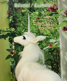 Unicorn Figurine, needle felted wool-inspired by the film The Last Unicorn-(pre-order-is made extra for you)  	Made and sold by FinyaVCreations 5 out of 5 stars Link to her shop: https://www.etsy.com/listing/518293626/unicorn-figure-small-needle-felted-wool   #unicorn #thelast #thelastunicorn #unicornstuff #fantasy #masterpiece #felted #feltedwool #needlefelting #art #mesmerizing #gorgeous #perfect #shining #unicornobsessed #unicornheaven #ethreal #whitelady