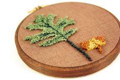 autumn embroidery.