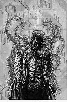 Hellblazer Demonic london by Tom3k-S.deviantart.com on @deviantART