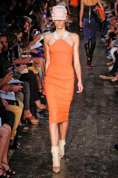 Victoria BeckhamVictoria Beckham NYC FASHION SHOW 2012