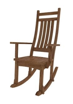 Trestle Mission Rocking Chair