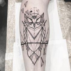 Owl - by Susboom Tattoo