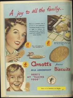 Issue: 12 Nov 1958 - The Australian Women's Wee. Vintage Recipes, Vintage Food, Vintage Advertisements, Ads, Lunch, Historic Newspapers, Advertising, Sydney Australia, Journals