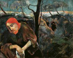 Paul Gauguin - The Agony in the Garden