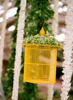 #birdcage  Photography: Elizabeth Messina - elizabethmessina.com/ Event Design and Planning: Mindy Weiss - mindyweiss.com/ Florals: Jeff Leatham - jeffleatham.com/  Read More: http://www.stylemepretty.com/2012/05/28/happy-memorial-day-gorgeous-military-weddings/